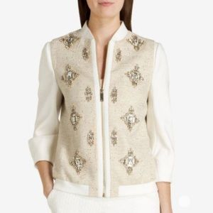Banwell Embellished Bomber Jacket from Ted Baker